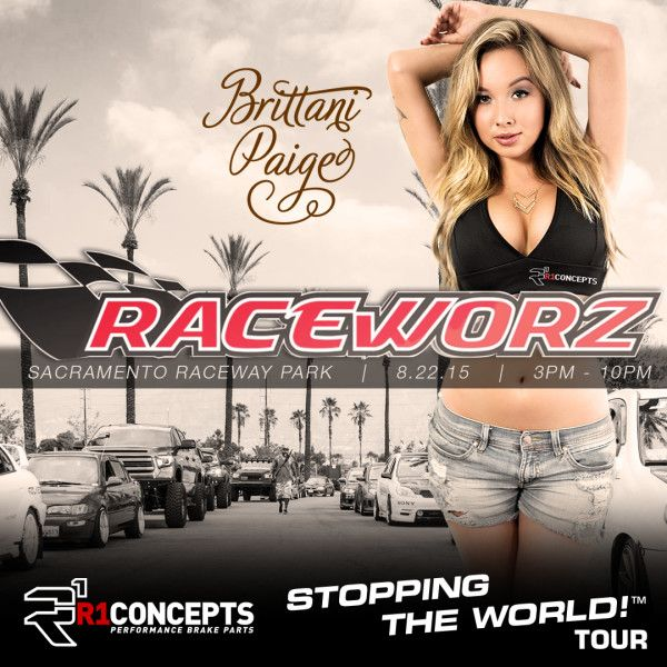 , STOPPING THE WORLD! Tour Invades Race Worz 2015