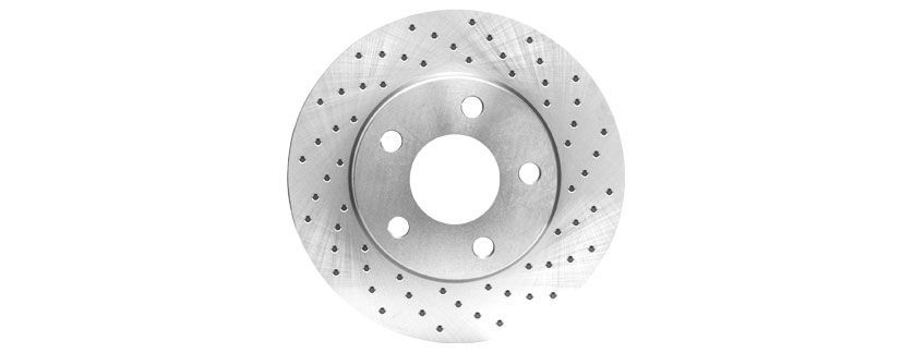 drilled rotor 3 - How to Choose Brake Rotors: Blank vs Drilled and Slotted vs Drilled