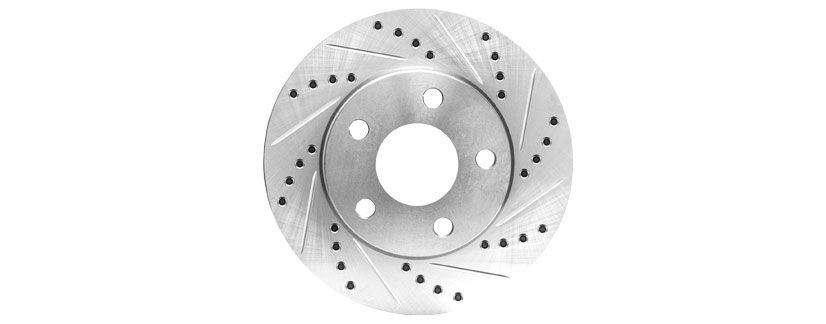 drilled slotted 2 - How to Choose Brake Rotors: Blank vs Drilled and Slotted vs Drilled