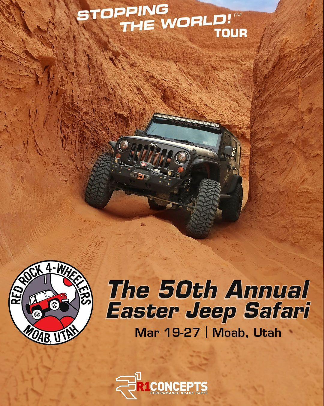 Moab Red Rock 4wheelers Easter Jeep Safari Flyer 2016