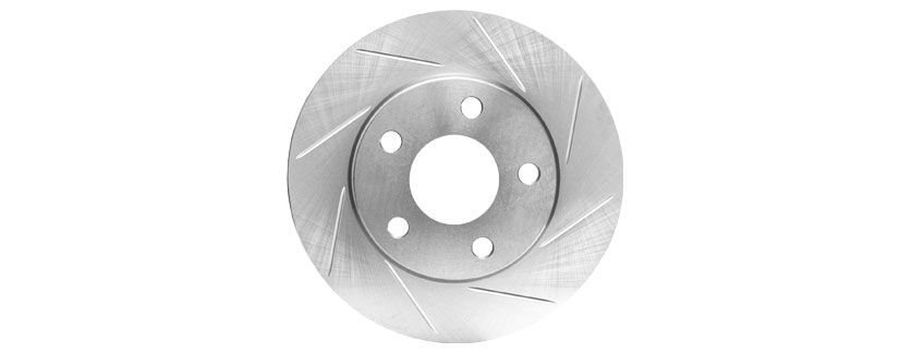 slotted rotor 2 - How to Choose Brake Rotors: Blank vs Drilled and Slotted vs Drilled