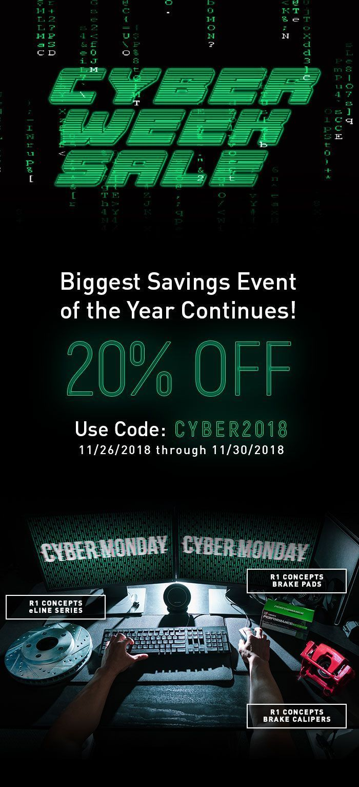 , Cyber Week Sale Event!