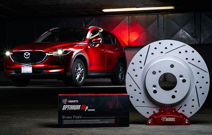 , Perfect Pair – R1 Concepts Carbon GEOMET® Rotors and OPTIMUM OEp Pads!