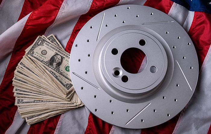 , Tax Return Savings on R1 Brake Rotors, and Pads