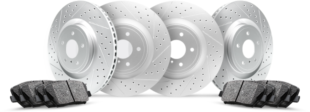 R1 Carbon GEOMET® Series Brake Rotors Kit
