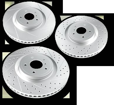R1 Carbon GEOMET® Series Brake Rotors