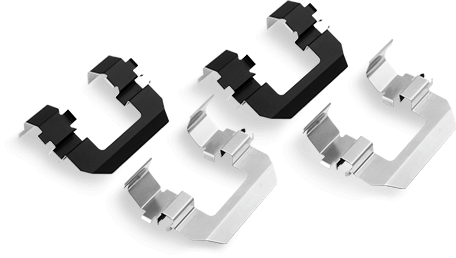 brake hardware - Replace Brake Hardware Kit with Every Brake Pad Change