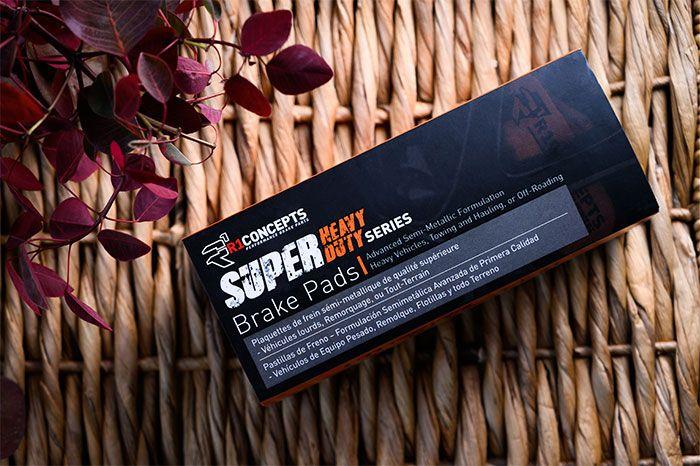 SUPER HEAVY DUTY BRAKE PADS