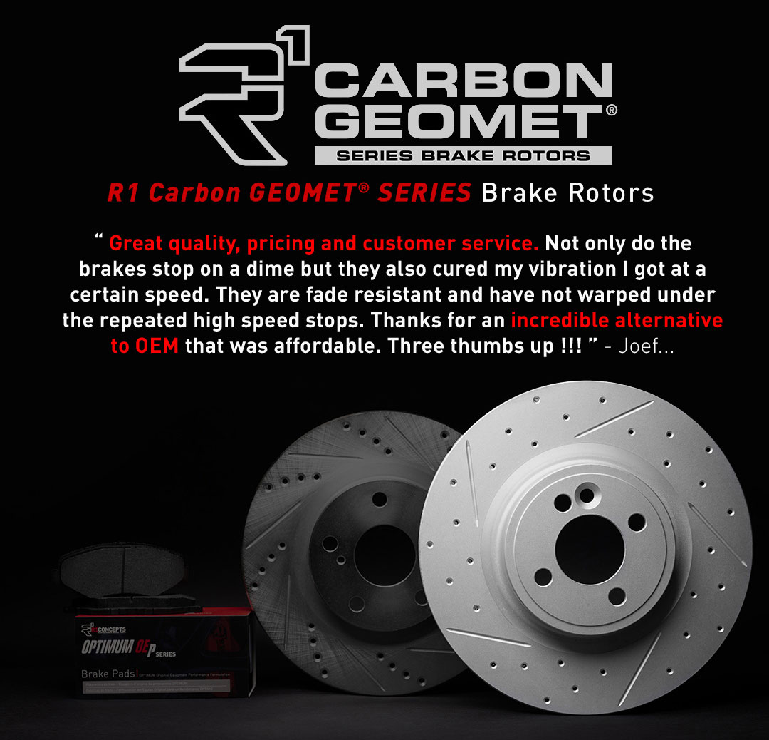 R1 GEOMET Carbon Series Brake Rotors