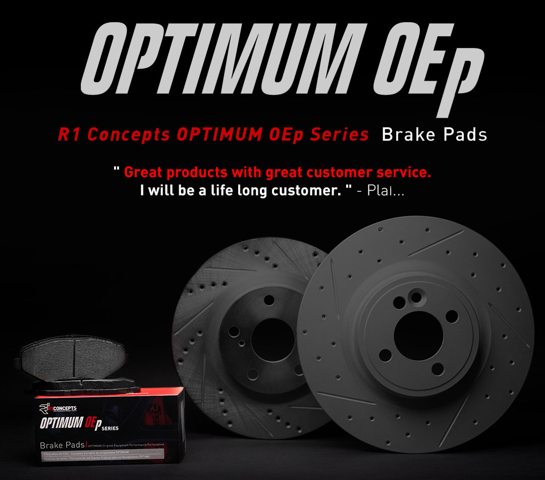 R1 Concepts OPTIMUM OEp Series Brake Pads