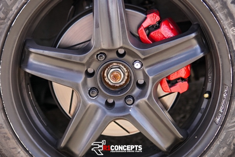 R1 Concepts Brakes Equipped Vehicle at NMCA West Auto-X