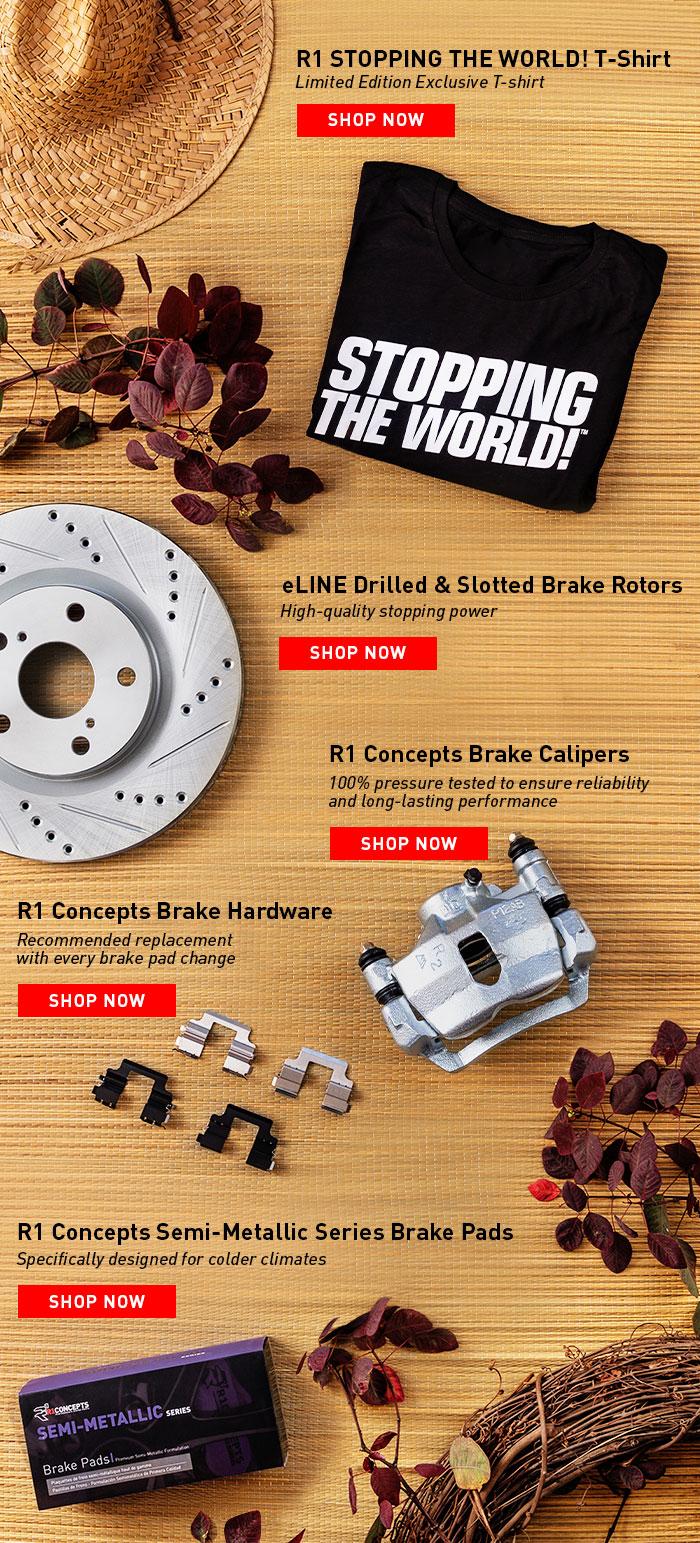 eLINE blog - Fall Brake Parts