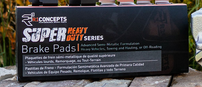 product pads - R1 Carbon GEOMET Series, Super Heavy Duty Series & More!