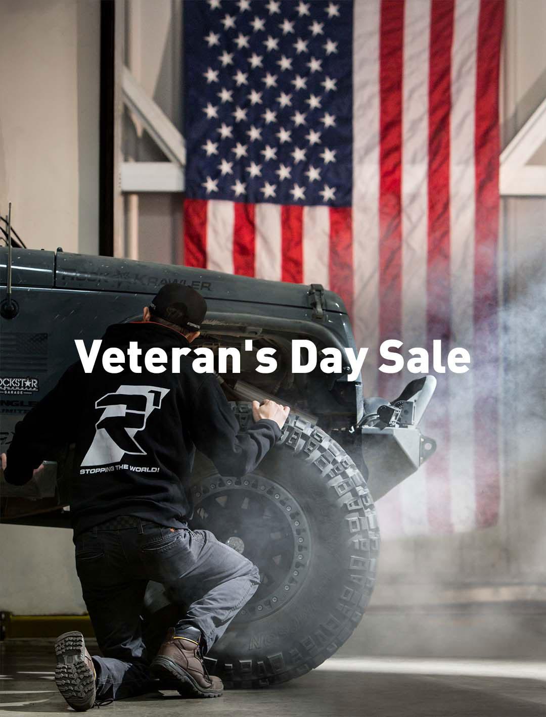 Veterans Day - Veterans Day Sale