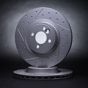 R1 GEOMET® Carbon Series Brake Rotors