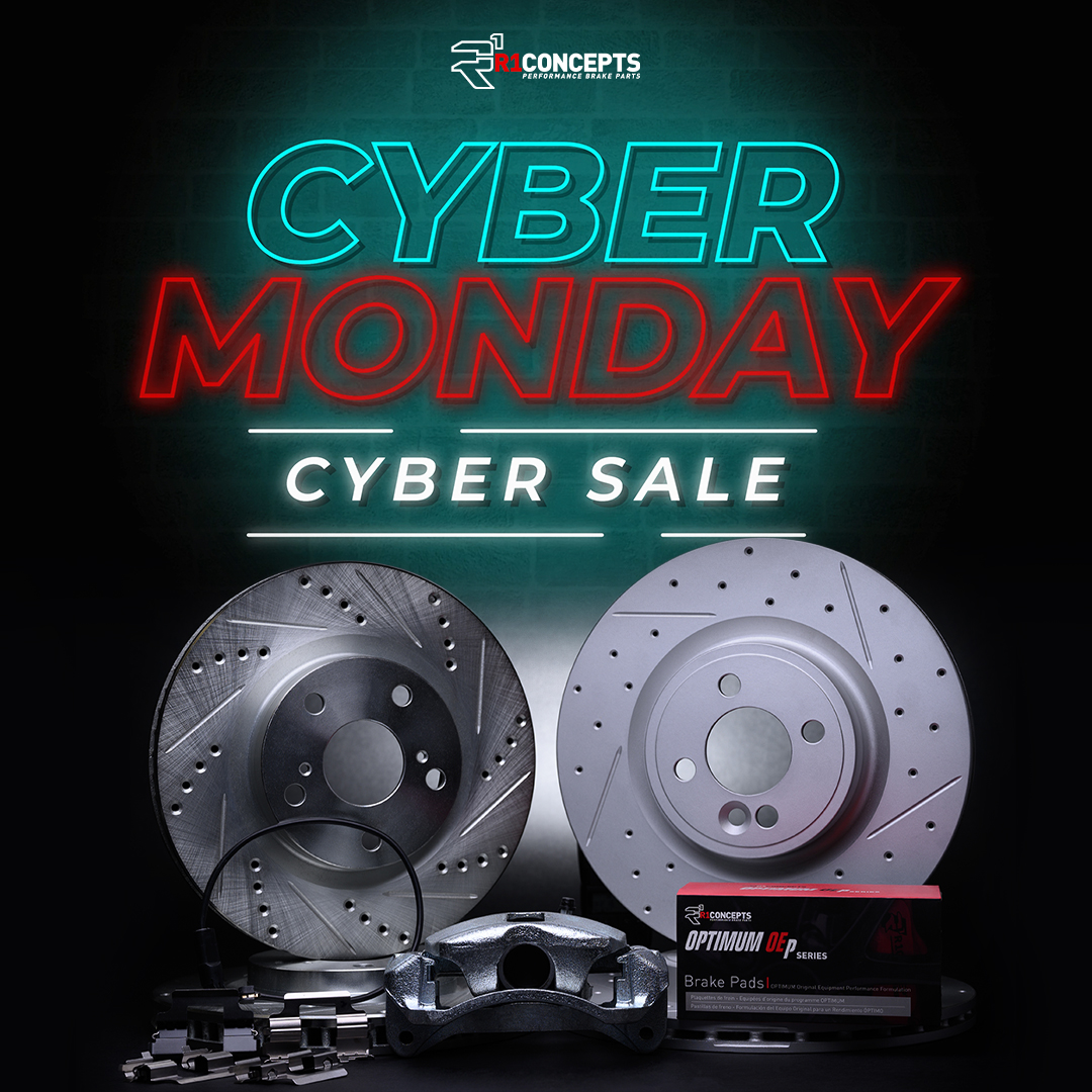 r1concepts cyber monday sale - It's time for a brake reboot with Cyber Monday Savings