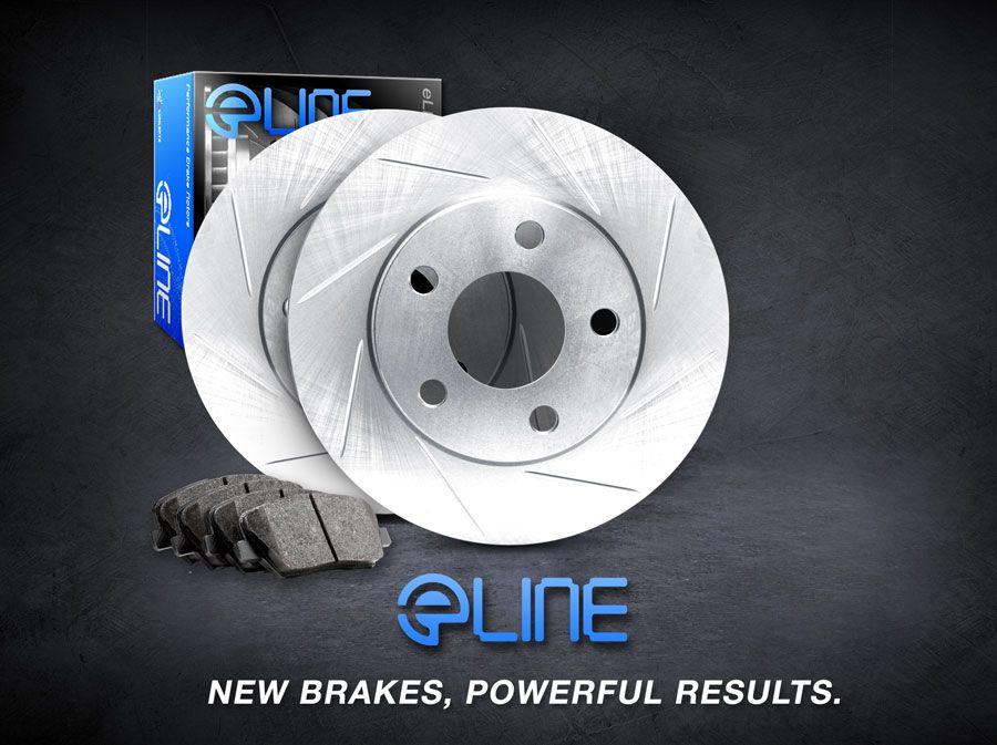 brake rotors front kit eline slotted pads camry 2002 2006 4 cylinder le ebay. Black Bedroom Furniture Sets. Home Design Ideas