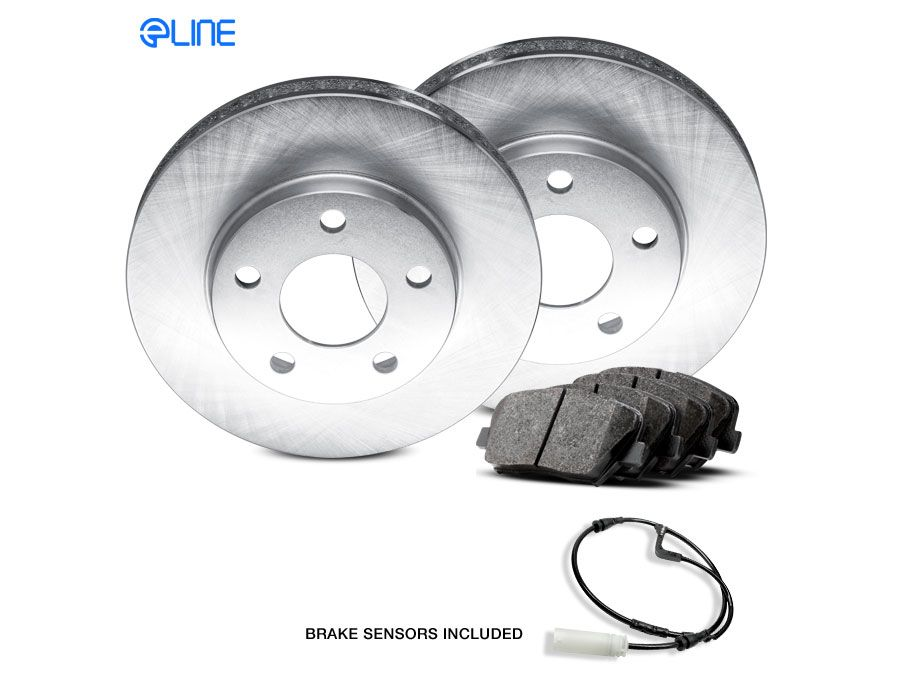 For 2012-2014 Subaru Impreza Front Rear Black Slotted Brake Rotors+Ceramic Pads