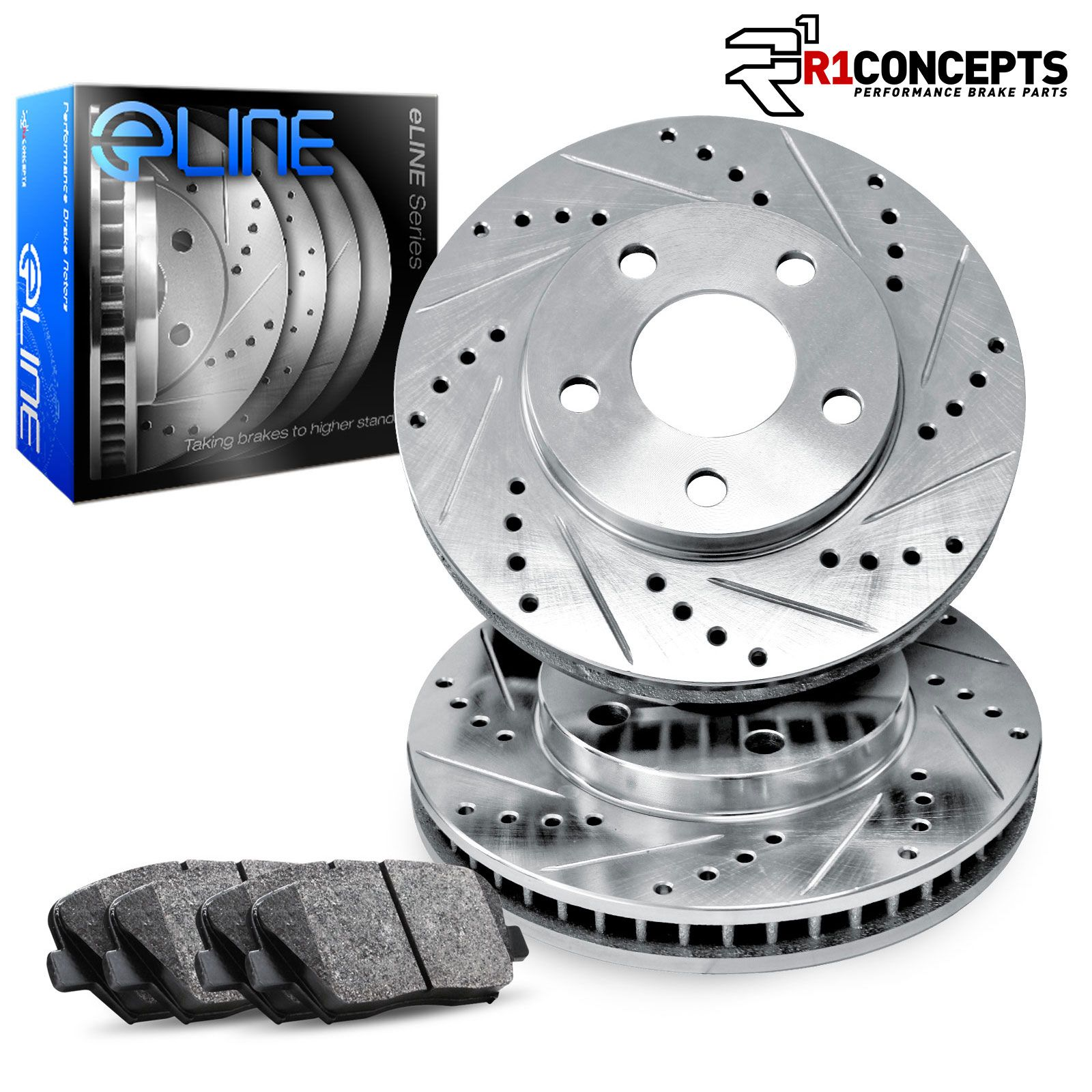 Honda Accord LXi SEi 88 89 Brake Disc Rotors FRONT
