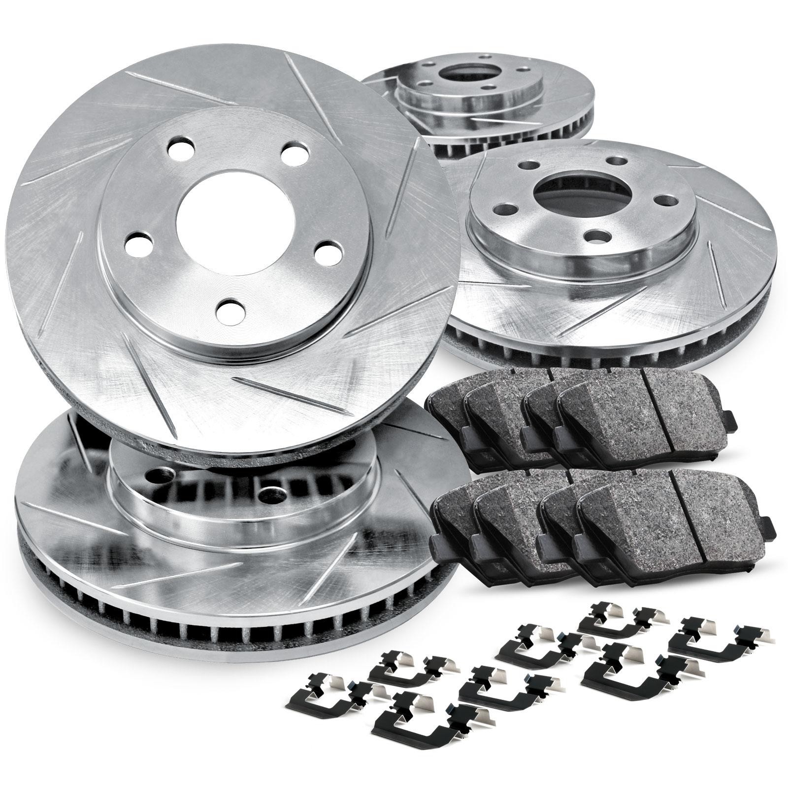 2014 Honda Odyssey OE Replacement Rotors w//Metallic Pads F
