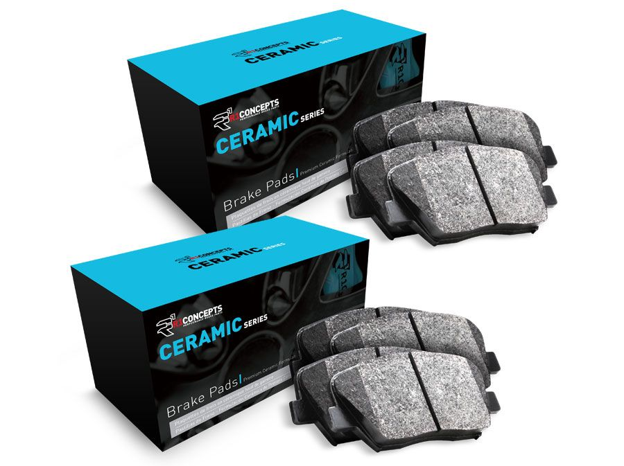 Brand New Front /& Rear Ceramic Brake Pads For 2005-2006 Dodge Durango
