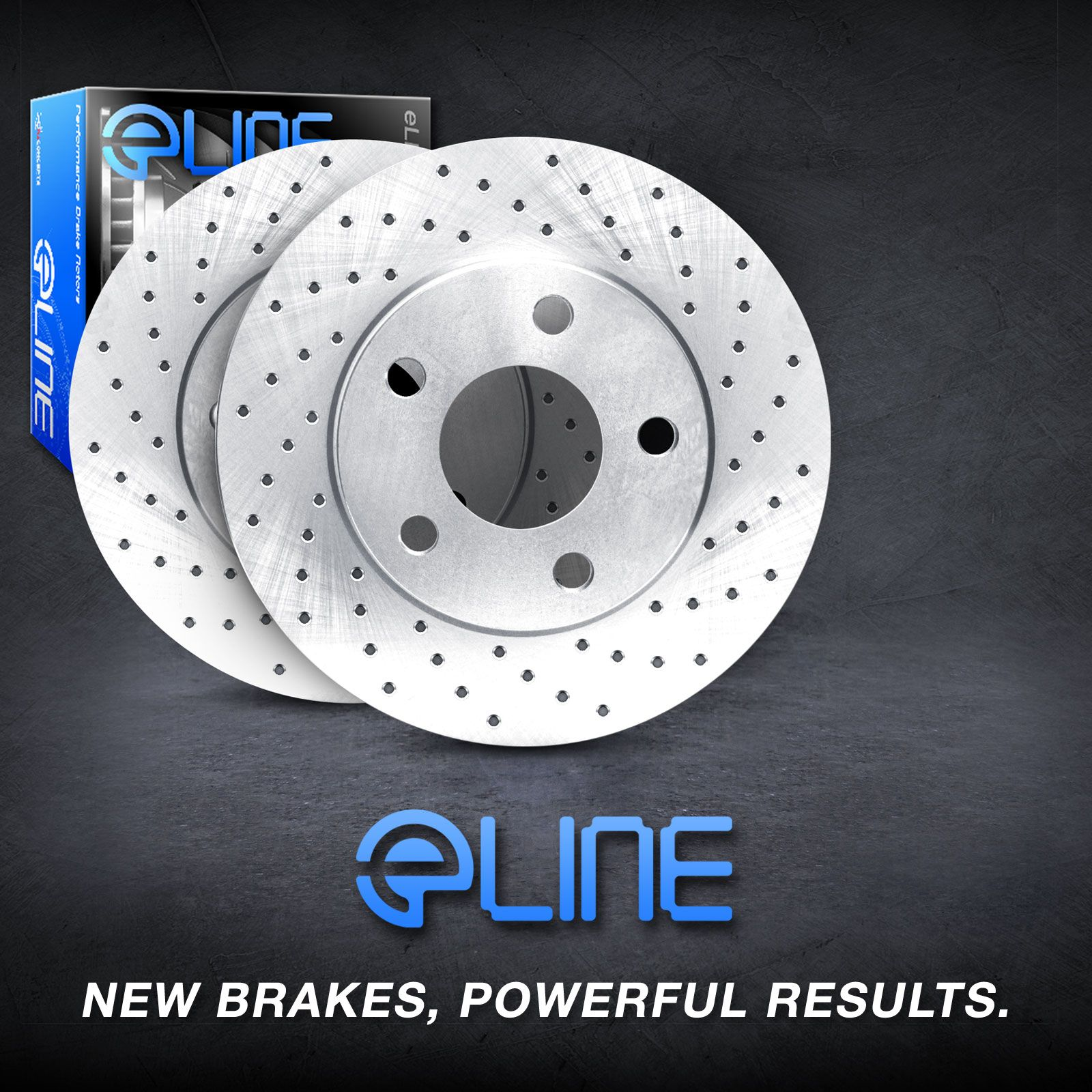 Brake rotors front eline cross drilled mercedes benz e320 for Mercedes benz rotors
