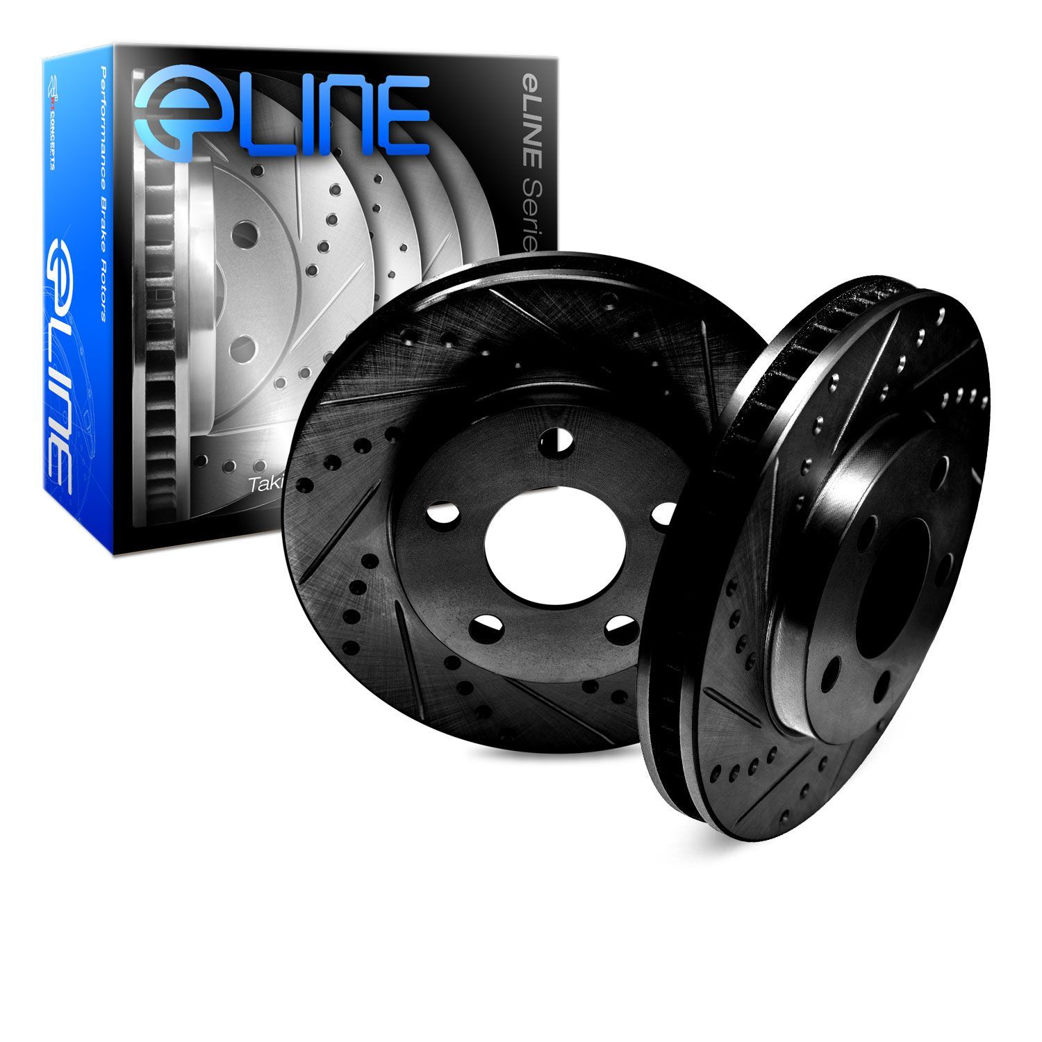 Brake Rotors FULL KIT ELINE DRILLED SLOTTED /& PADS FITS ALTIMA 2007-2012