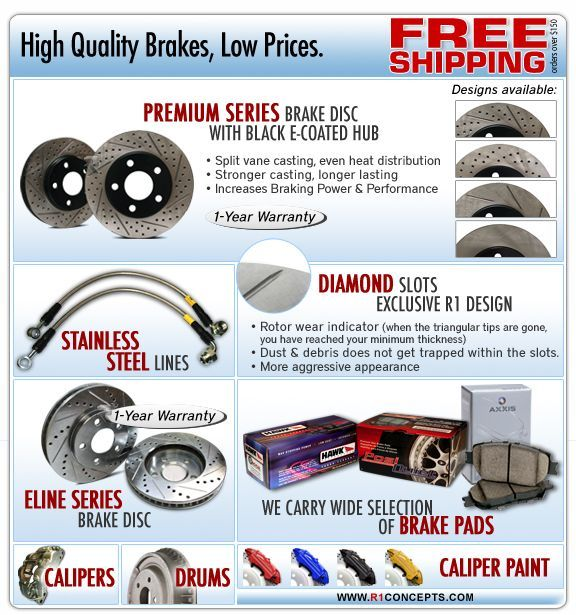 We offer Camaro brake pads brands such as :