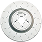 Quiet Slotted Rotors