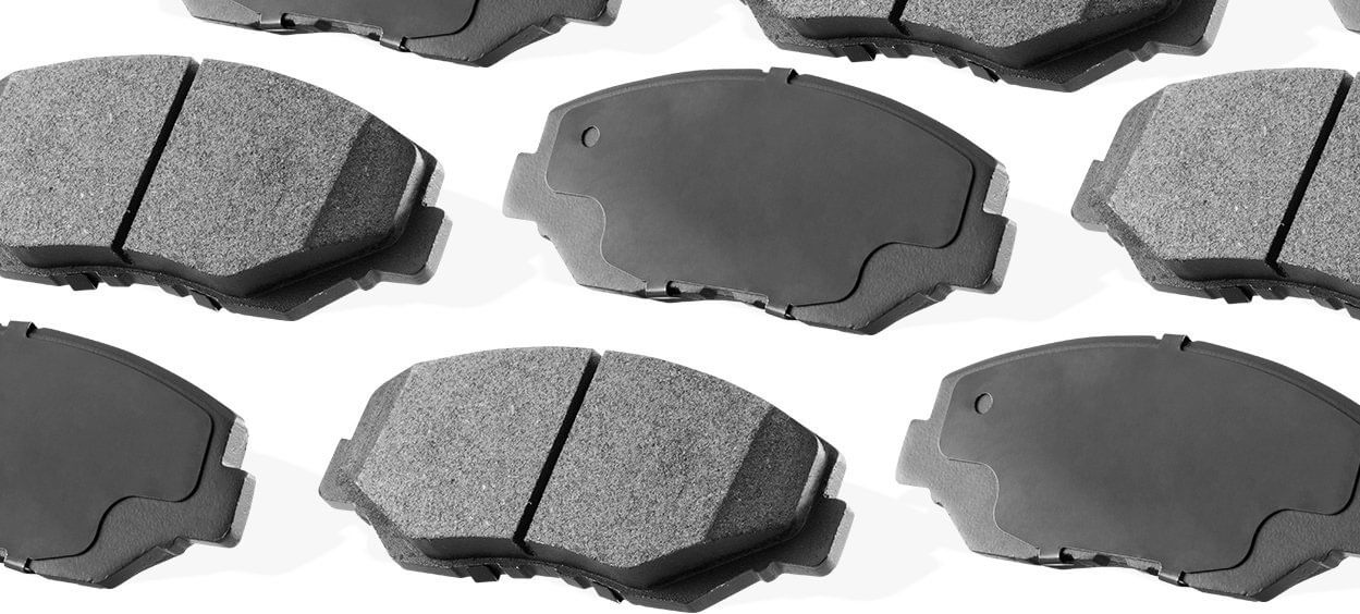 Premier Series Ceramic Pads With Shims R1 Concepts A05.208925 Disc Brake Pad